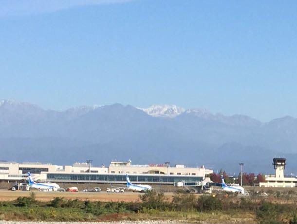 富山空港 天皇陛下の飛行機