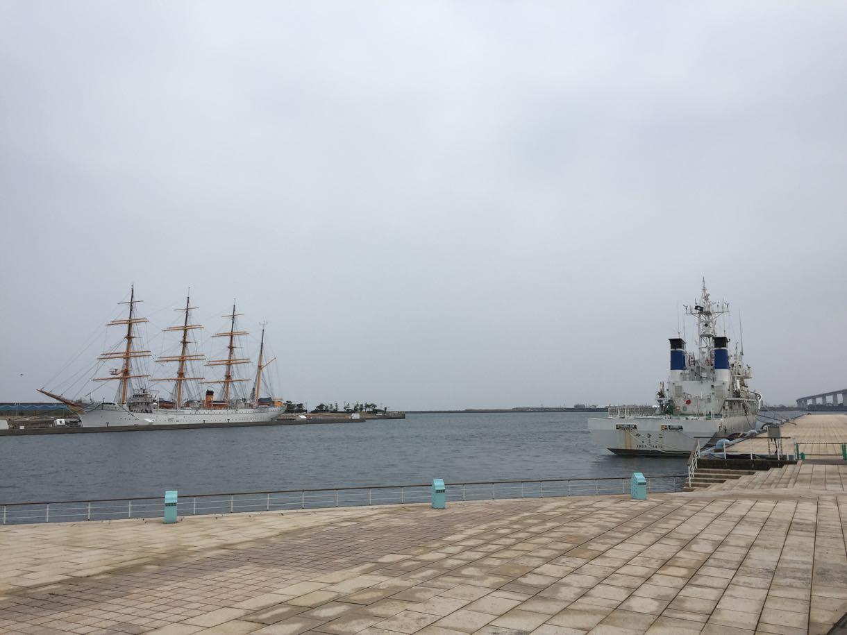 海王丸と海上保安庁