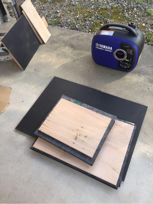 EF1600is用の消音ボックスを作る