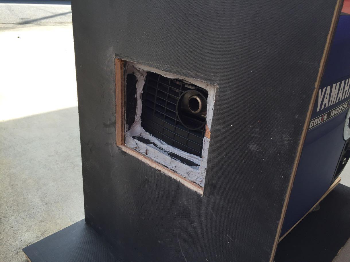 消音ボックスのアダプター