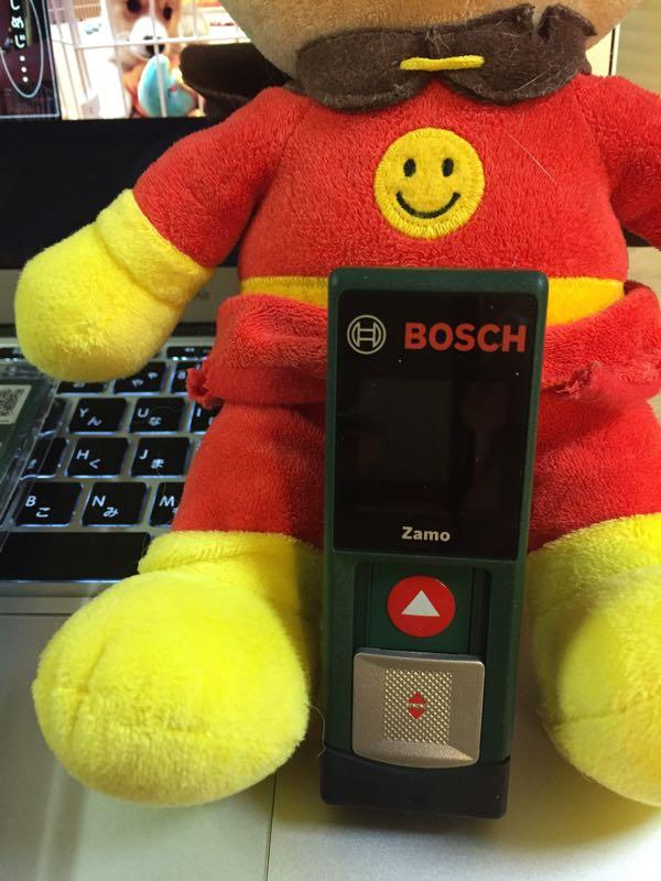 バーストナーとレーザー距離測定器