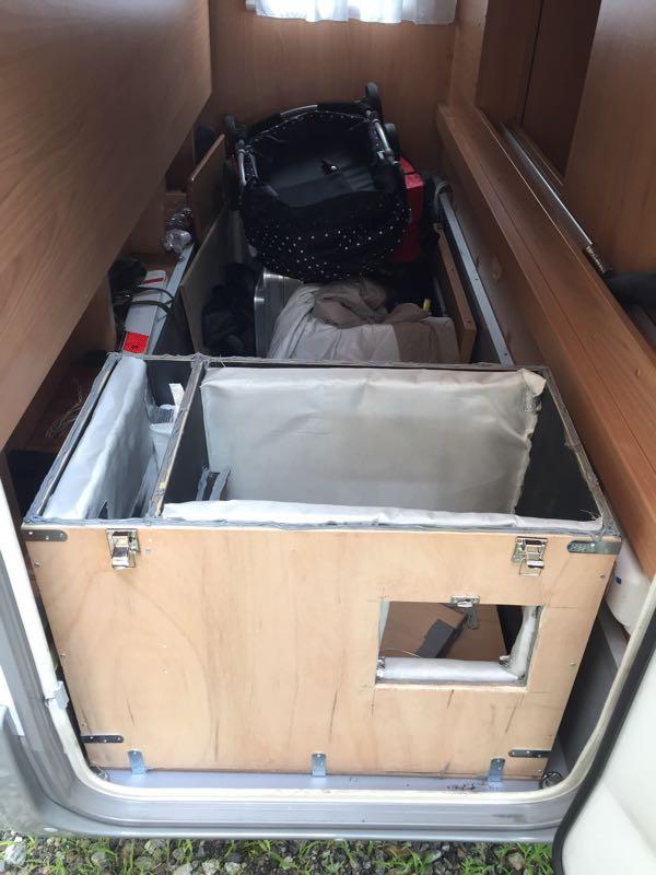 バーストナーと消音ボックス