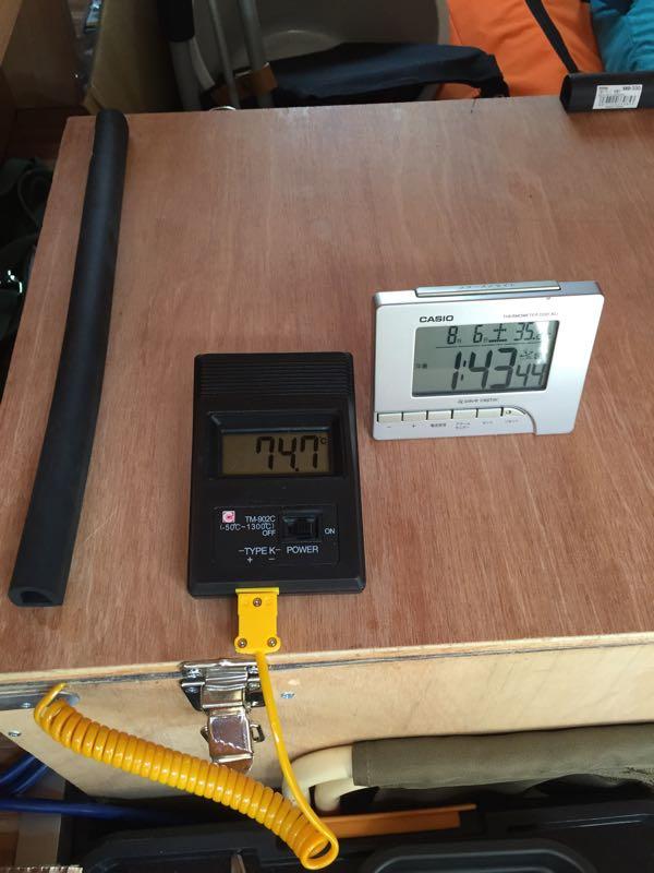 バーストナーに発電機消音ボックスを搭載
