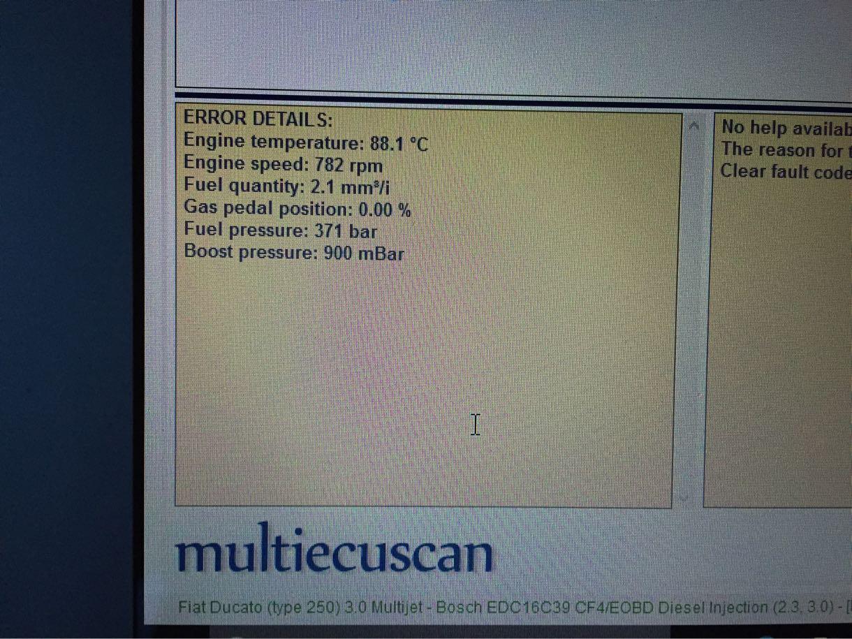 multiecuscan バーストナーチェック