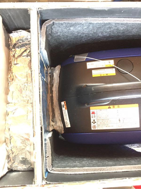 発電機 消音ボックスの静音化