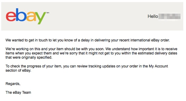 eBayのwnDirectとヤマト