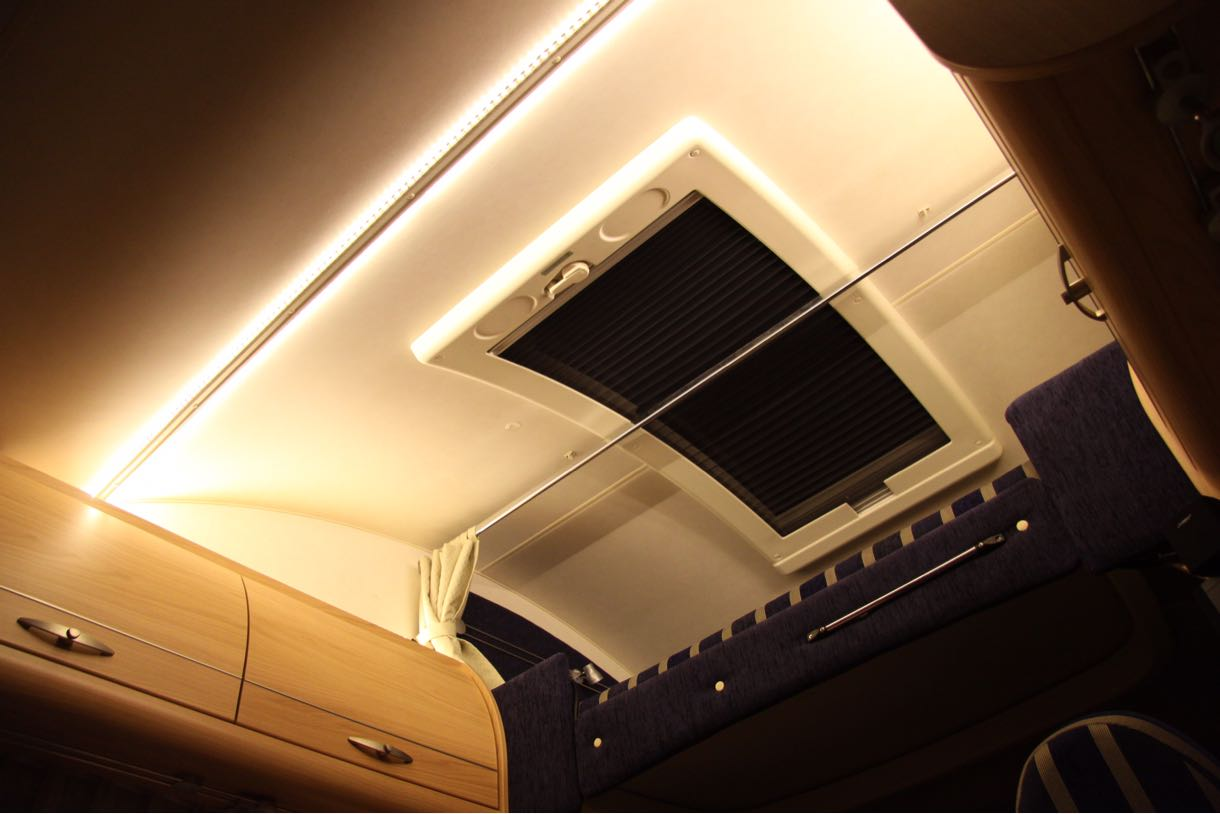 バーストナー LED照明に変更