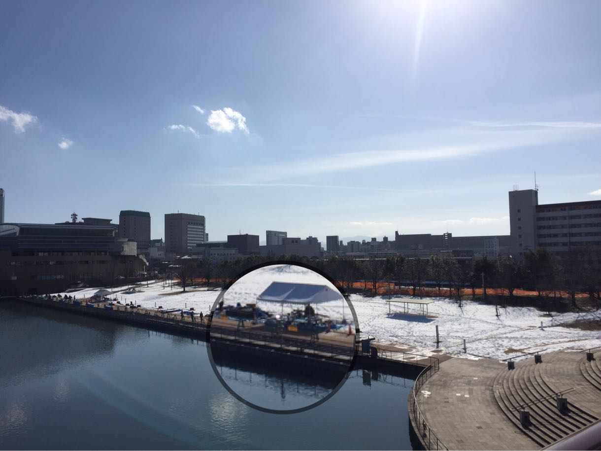 しめじと富山環水公園