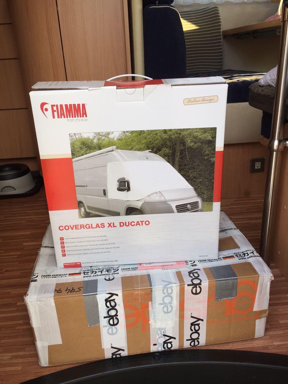 Fiamma Coverglas XL Ducato