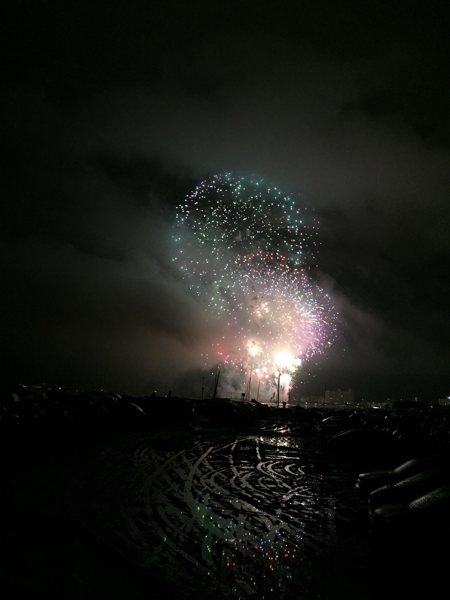 諏訪湖花火2017