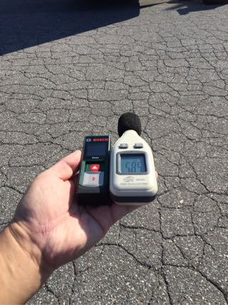 騒音計で測る