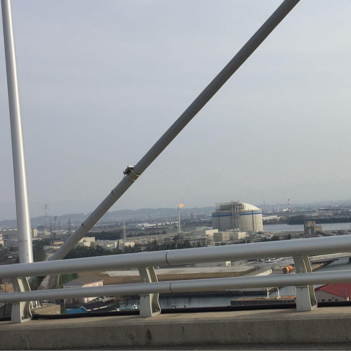 北陸電力富山新港LNGの炎