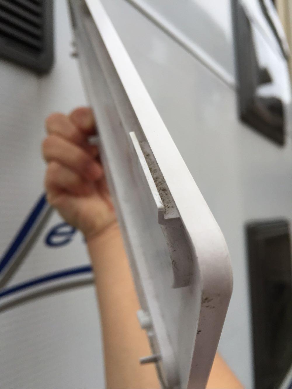 dometic冷蔵庫のウインターカバー
