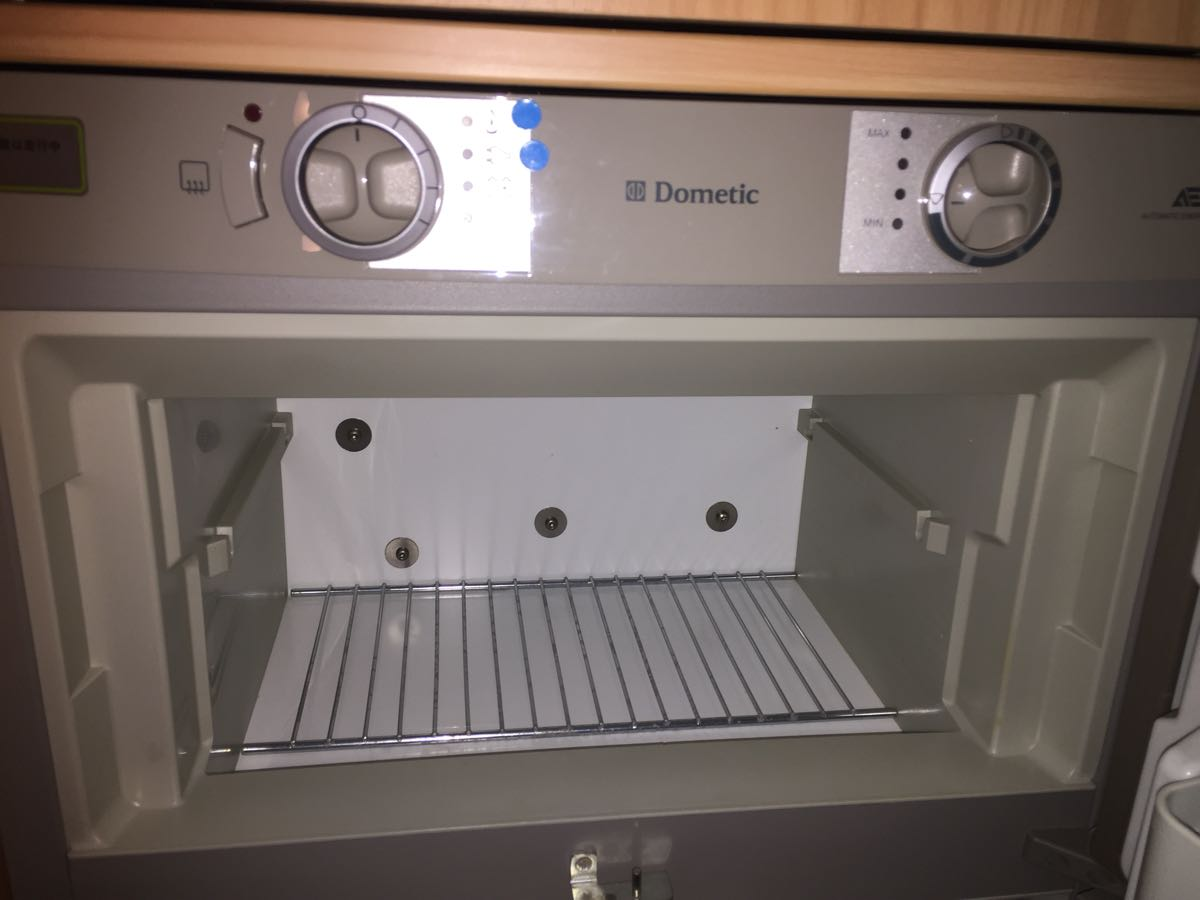 3WAY冷蔵庫の冷え具合を試す