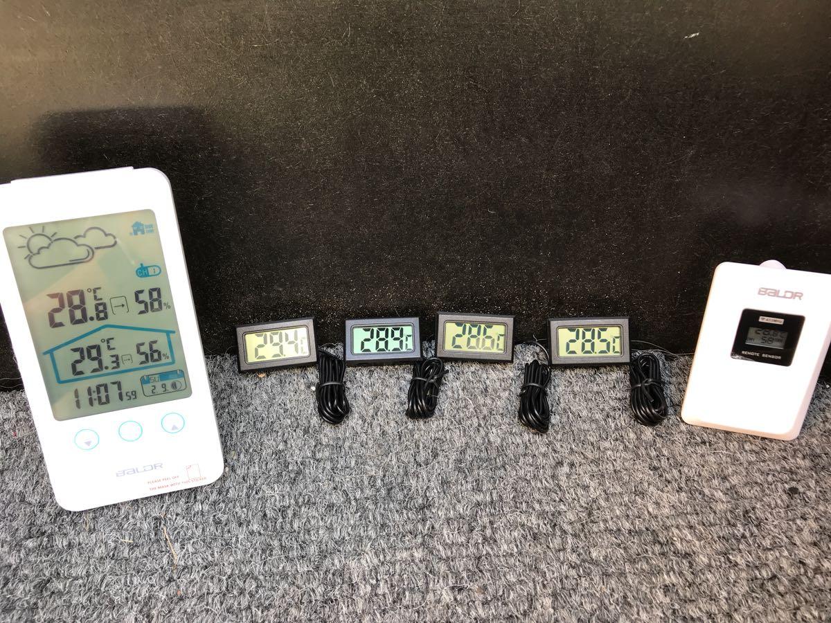 室外機と発電機の温度管理