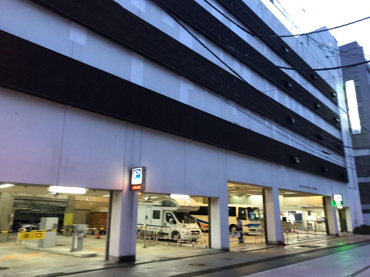 富山市営駐車場