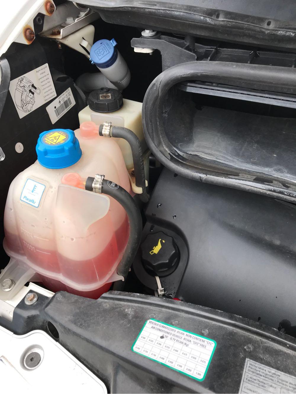 キャンピングカーの冷却水