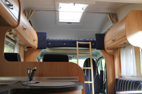 Overcab bed