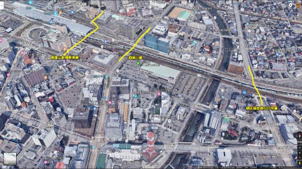 富山駅付近連続立体交差事業