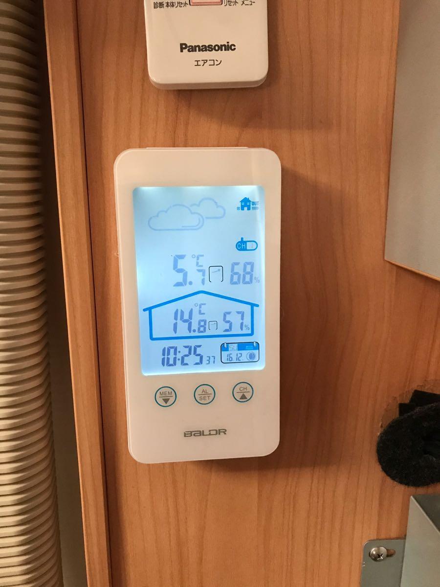 家庭用エアコンで寒い室内を温める