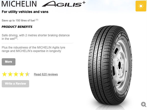 Michelin UK AGILIS+