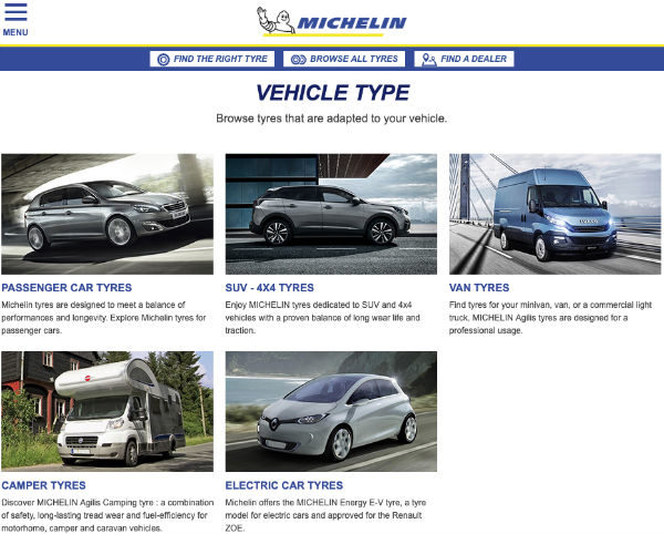 Michelin UK