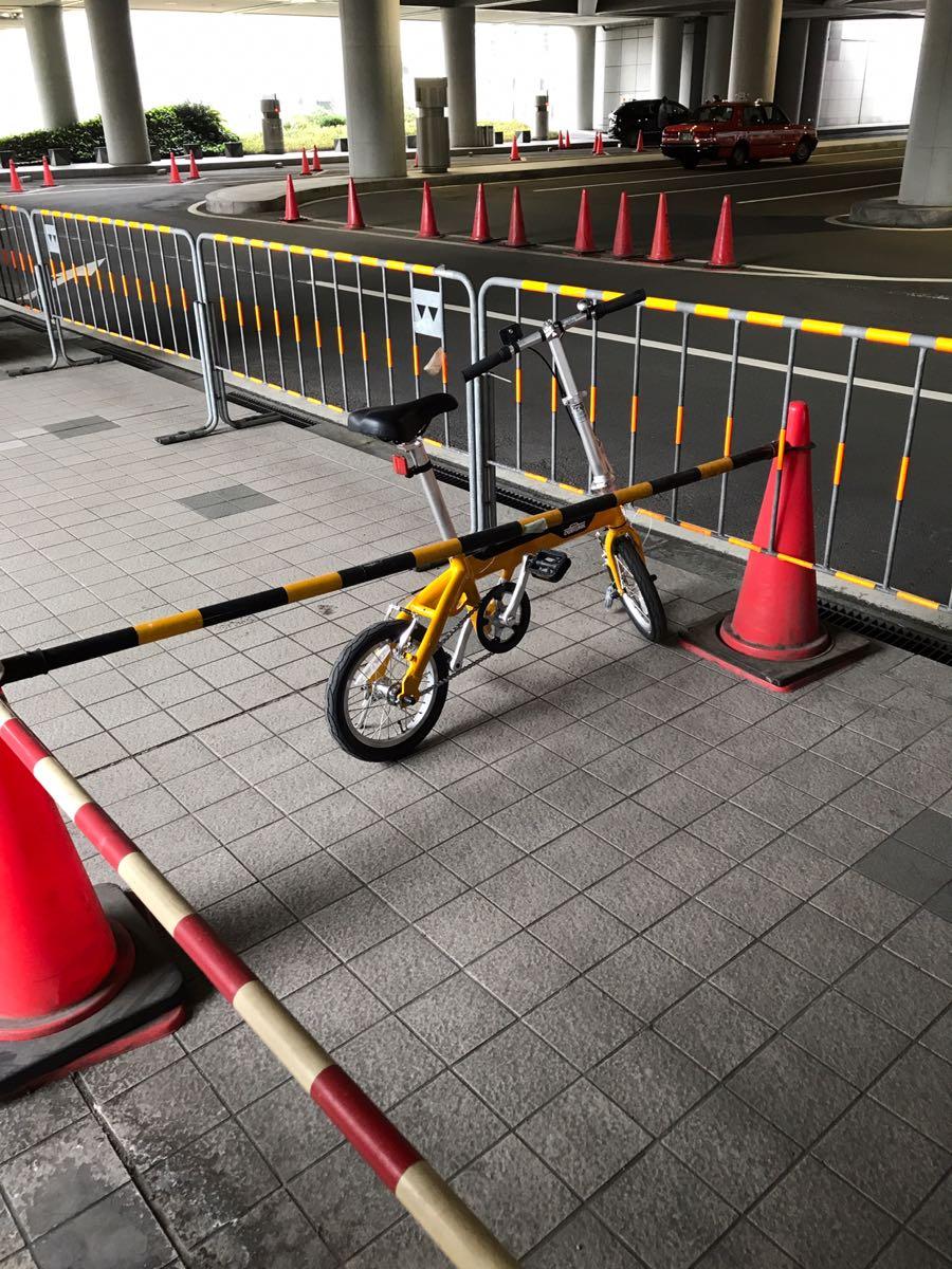 サイクルベースあさひの折りたたみ自転車