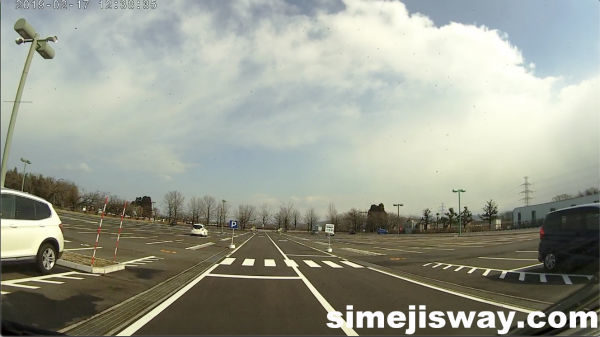 太閤山ランドの駐車場