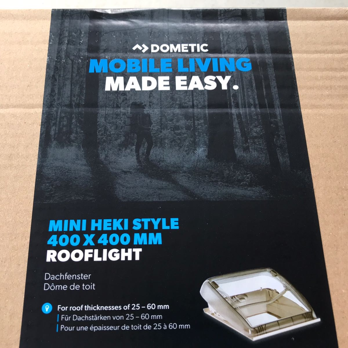 DOMETIC MINI HEKIが届いた