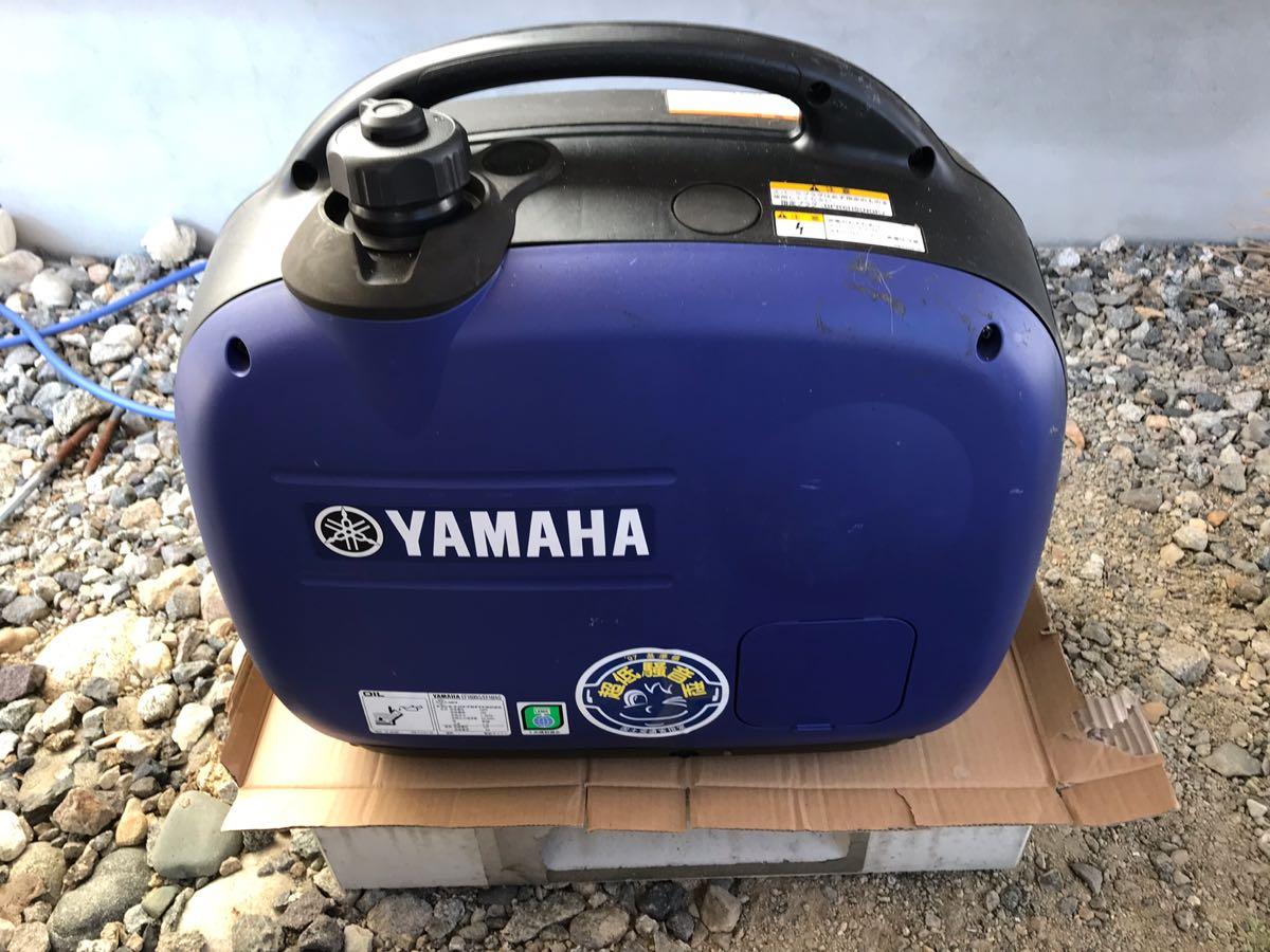 ヤマハの発電機オイル交換