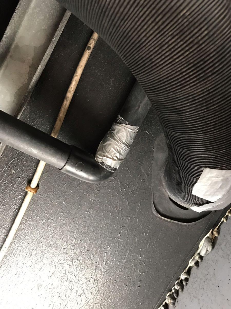 グレー配管の補修