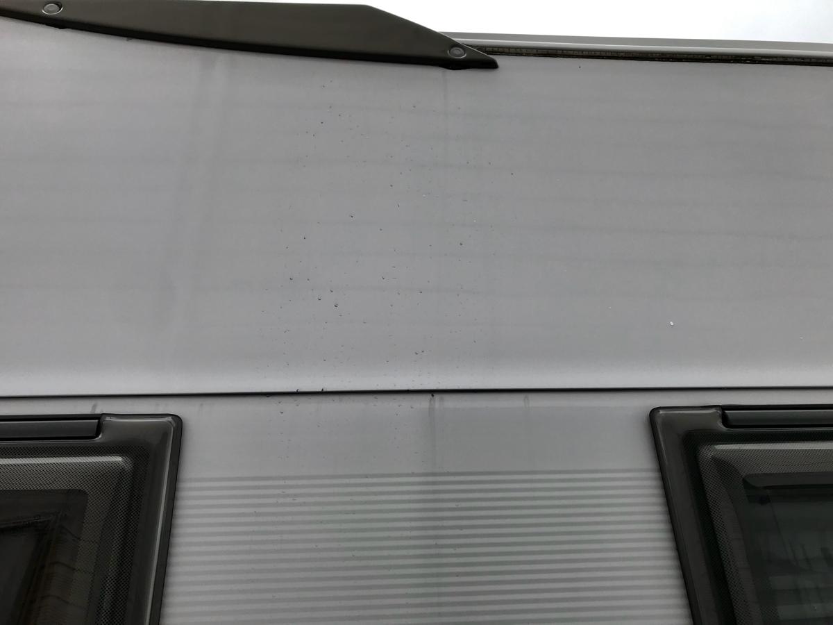 光触媒コーティング施工後の洗車