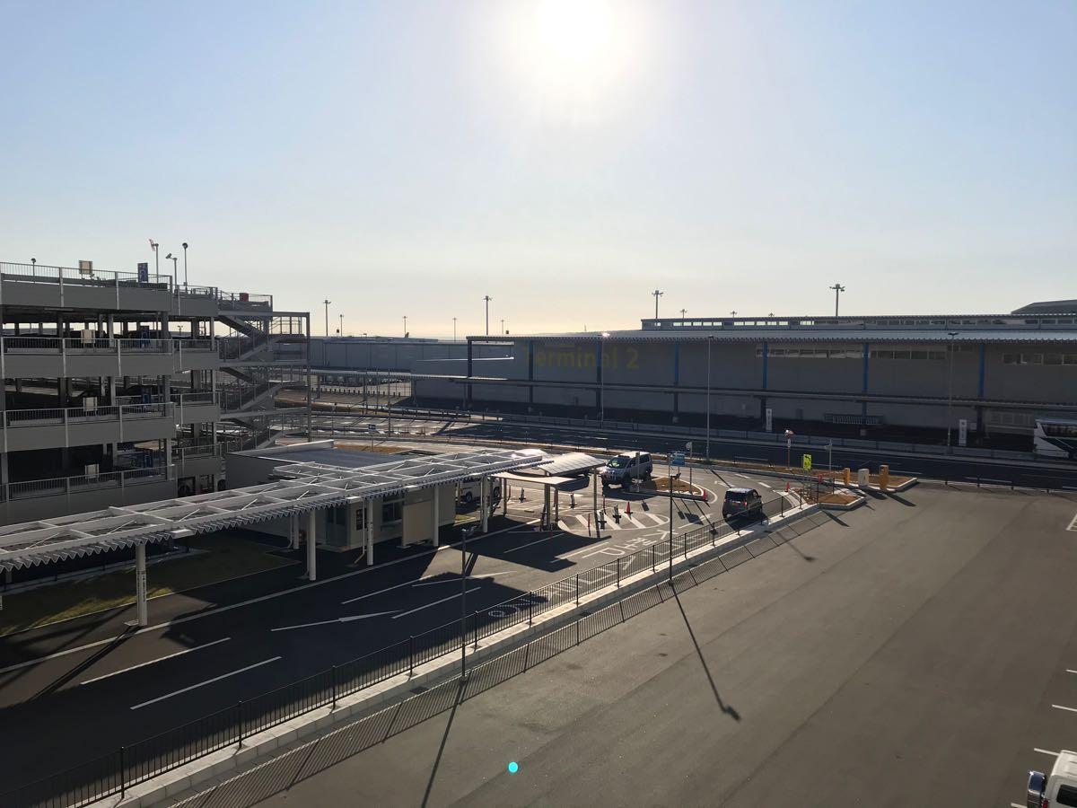 中部国際空港 駐車場