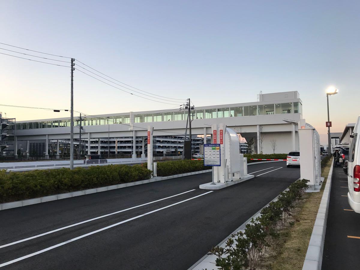 愛知県国際展示場 駐車場