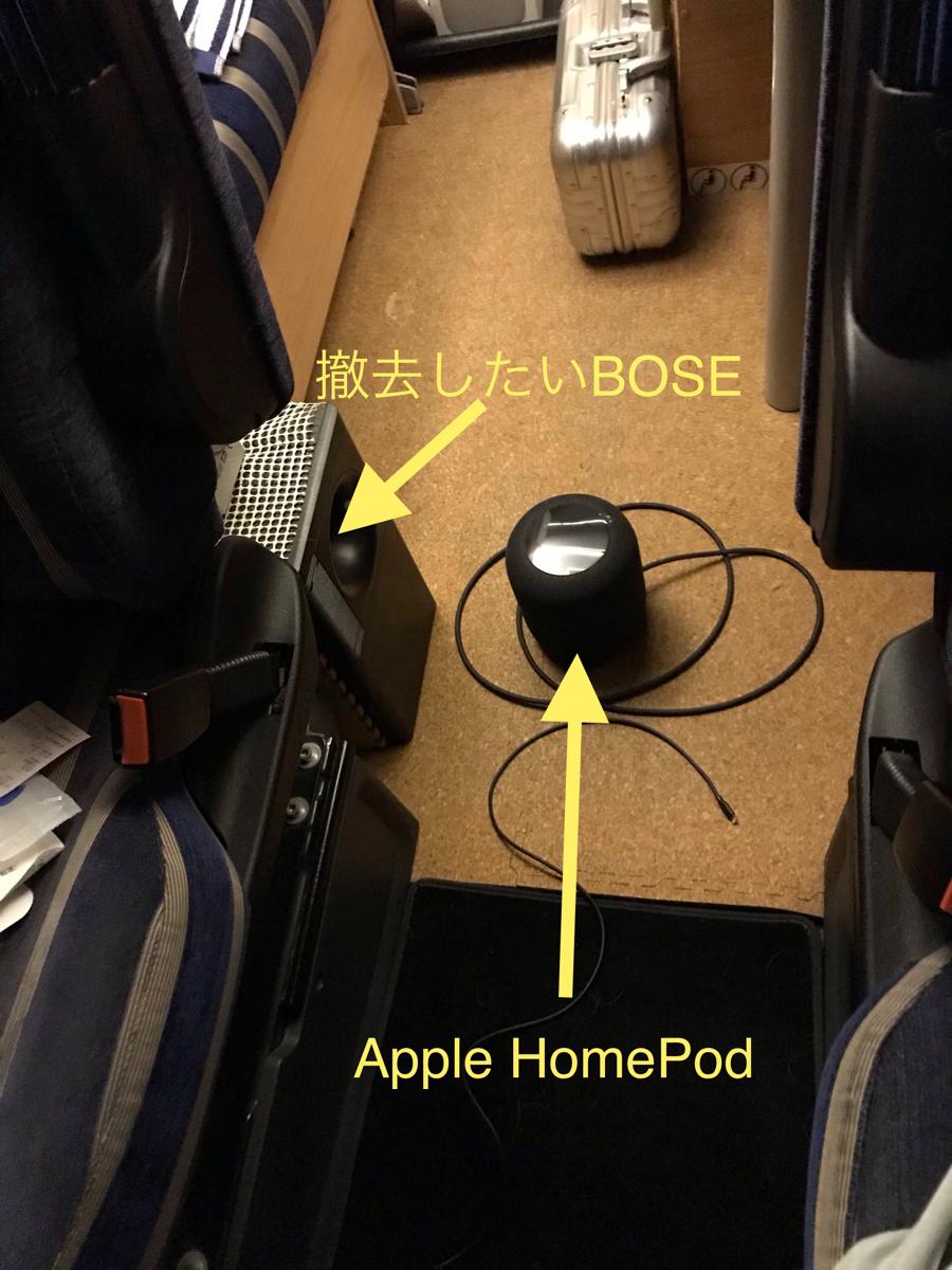 Apple HomePodをキャンピングカーで使う