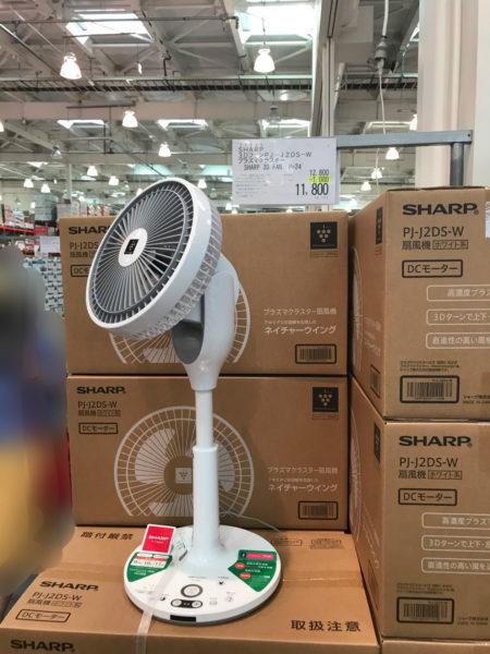 コストコの6月は扇風機と水遊び!
