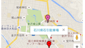 キャンピングカーがとめられる駐車場が見つかったので兼六園にお散歩行けそうな気がしてきた。