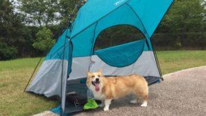 コストコで販売しているLightspeed製の簡易テントで夏対策するょ!
